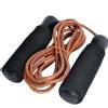 KOBO Leather Jump Rope (JR-1),  Black & Brown  Free Size