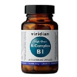 Viridian High One B-Complex B1,  Unflavoured  30 Veggie Capsule(s)