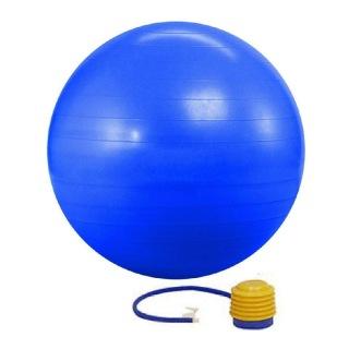 KOBO Anti-Burst Gym Ball With Foot Pump (GB-4-85),  Blue  85 cm