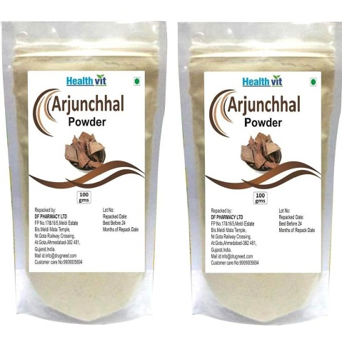 Healthvit Arjunchhal Powder, 100 g - Pack of 2