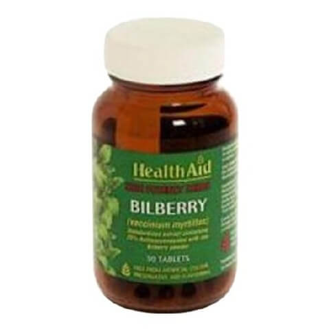 HealthAid Bilberry Extract,  30 tablet(s)