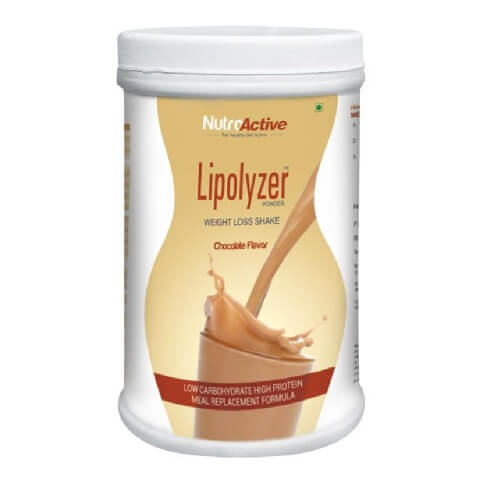 NutroActive Lipolyzer Weight Loss Shake,  0.5 kg  Chocolate