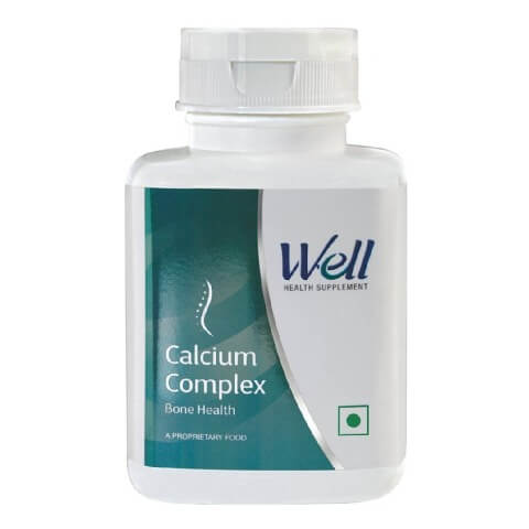 Modicare Well Calcium Complex,  Unflavoured  60 tablet(s)