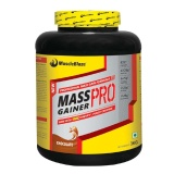 MuscleBlaze Mass Gainer PRO With Creapure,  Chocolate  6.6 Lb