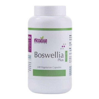 Zenith Nutrition Boswellia Plus (250 mg),  240 veggie capsule(s)