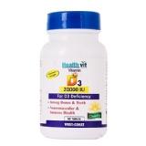 Healthvit Vitamin D3 (20000 IU),  60 Tablet(s)