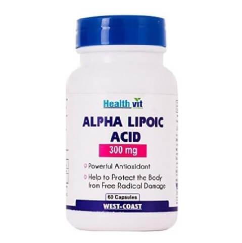 Healthvit Alpha Lipoic Acid (300 mg),  60 capsules