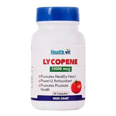 Healthvit Lycopene (10000 mcg),  60 capsules