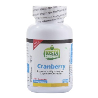 Vista Nutrition Cranberry (800mg),  60 veggie capsule(s)