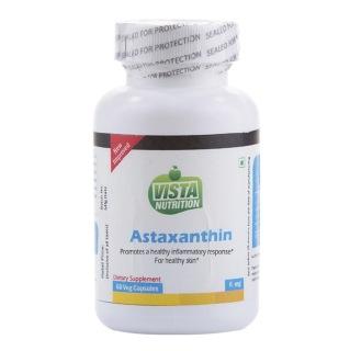 Vista Nutrition Astaxanthin,  60 capsules