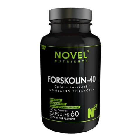 Novel Nutrients Forskolin 40 (125 mg),  60 capsules  Unflavoured