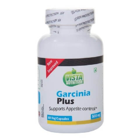 Vista Nutrition Garcinia Plus (500 mg),  60 veggie capsule(s)