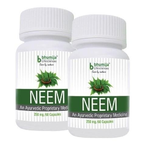 Bhumija Neem,  60 capsules  - Pack of 2