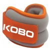 KOBO Ankle Weight,  Orange/Grey  2 kg