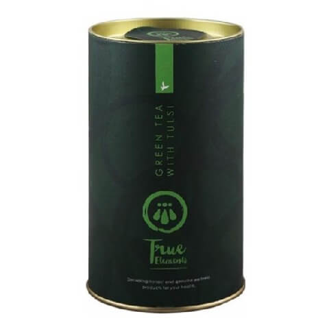 True Elements Green Tea with Tulsi,  100 g  Tulsi