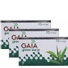 GAIA Green Tea,  25 Piece(s)/Pack  Unflavoured  - Pack of 3
