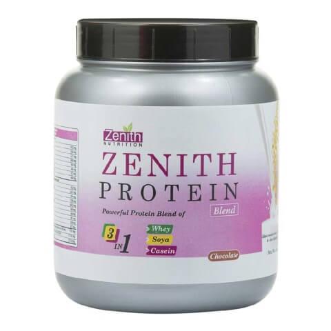 Zenith Nutrition Zenith Protein Blend,  1.1 lb  Chocolate