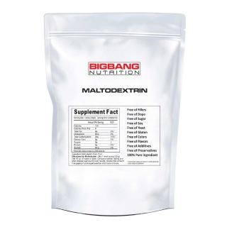 BigBang Nutrition Maltodextrin, 6 lb Unflavoured