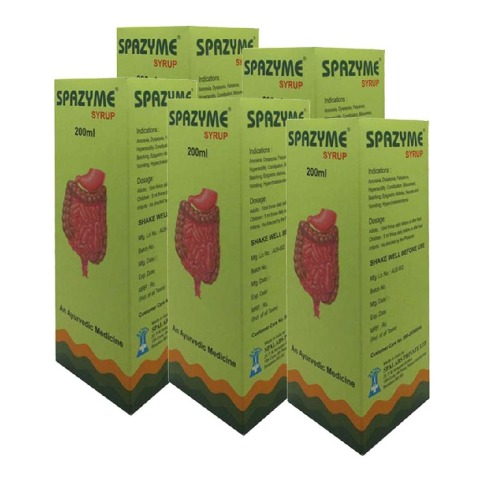 Kairali Spazyme Syrup, 200 m - Pack of 5