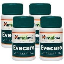 Himalaya Evecare,  30 capsules  - Pack of 4