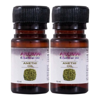 Healthvit Aroma Anethi Oil, 15 ml for All Skin Types - Pack of 2