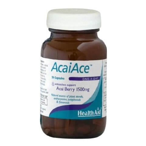HealthAid Acai Ace (Acai Berry),  30 capsules  Unflavoured