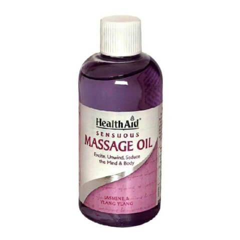 HealthAid Sensuous Massage Oil,  150 ml  Jasmine & Ylang Ylang