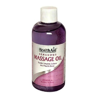 HealthAid Sensuous Massage Oil,  150 ml  Jasmine & Ylang Ylang