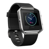 Fitbit Blaze Smart Fitness Watch,  Large (Black/Silver)