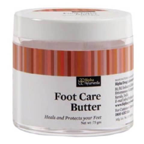 Bipha Foot Care Massage Butter,  75 g  for All Skin Types