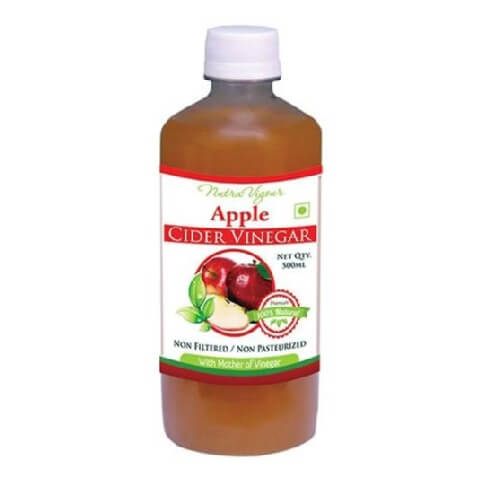 Nutra Vigour Apple Cider Vinegar,  0.5 L  Unflavoured