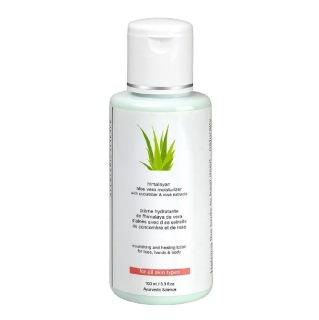 Herbline Aloevera Moisturising Lotion,  100 ml  for All Skin Types