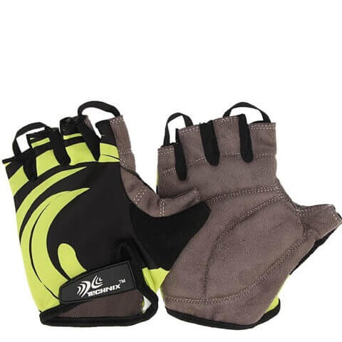 Technix Endurance Fitness Gloves,  Green  Medium