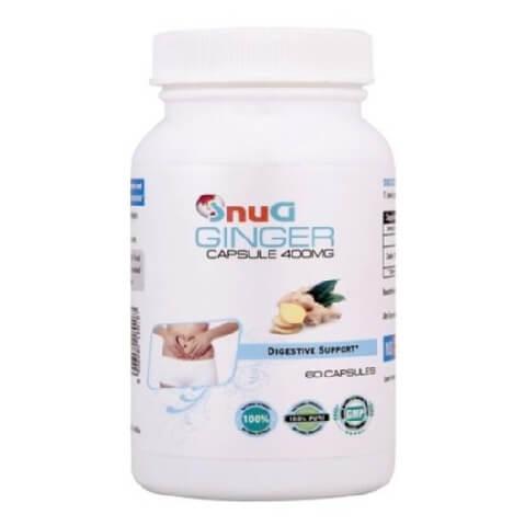 SnuG Ginger 400MG,  60 capsules