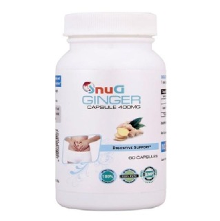 SnuG Ginger 400MG,  60 capsules