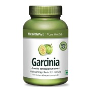 HealthViva Garcinia with 60% HCA,  60 capsules