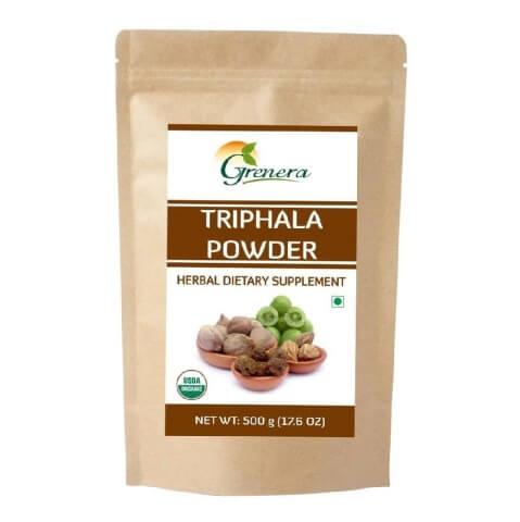 Grenera Triphala Powder,  0.500 kg