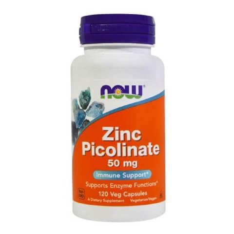 Now Zinc Picolinate (50 mg),  120 capsules