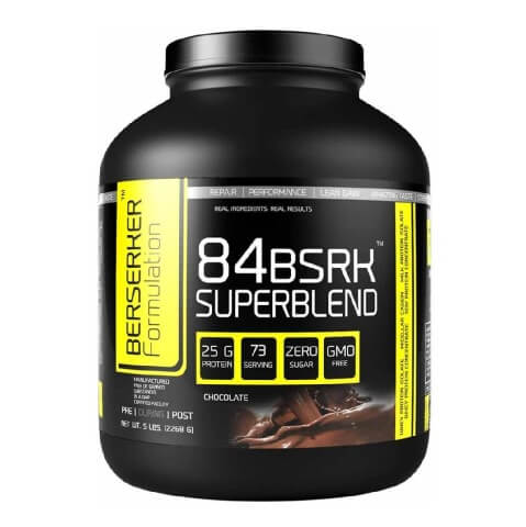 Berserker 84 Super Blend,  5 lb  Chocolate