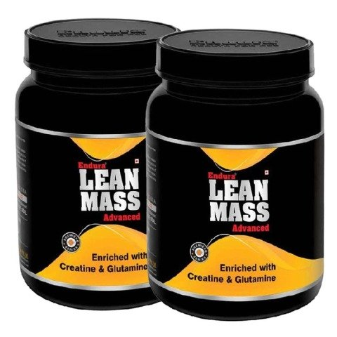 Endura Lean Mass Advanced - Pack of 2, Banana 2.2 lb