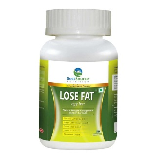 BestSource Nutrition Lose Fat (500mg),  60 veggie capsule(s)