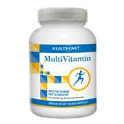 HealthKart Multivitamin with Ginseng,  Unflavoured  60 capsules