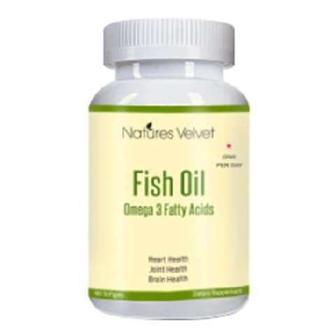 Natures Velvet Fish Oil,  60 softgels