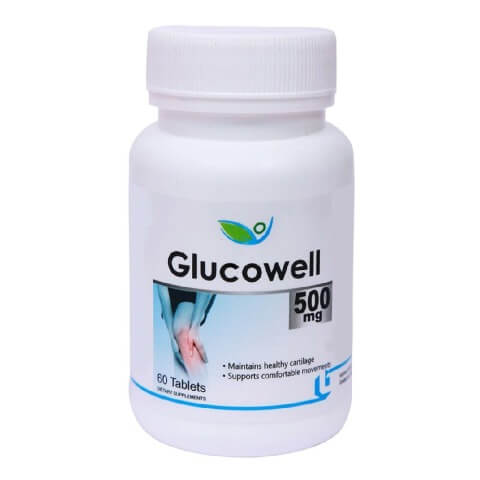 Biotrex Glucowell (500 mg),  60 tablet(s)