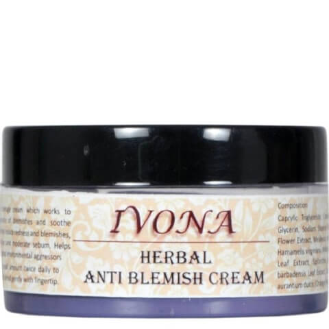 Ivona Herbal Anti Blemish Cream,  50 g  All Skin Type