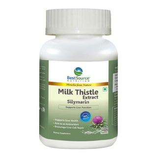 BestSource Nutrition Milk Thistle Silymarin,  60 veggie capsule(s)