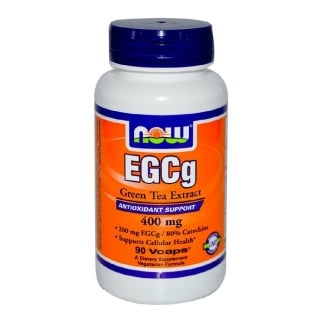 Now EGCg Green Tea Extract (400mg),  90 veggie capsule(s)  Unflavoured