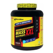 MuscleBlaze Mass Gainer XXL,  Chocolate  6.6 lb