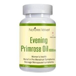 Natures Velvet Evening Primrose Oil (1000 mg),  60 softgels