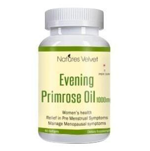 Natures Velvet Evening Primrose Oil (1000 mg),  60 softgels